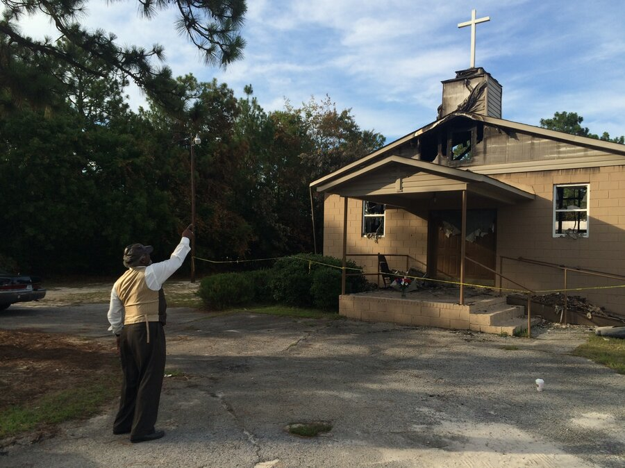 Investigators Probe Fires At 6 Black Churches In 5 Southern States ...