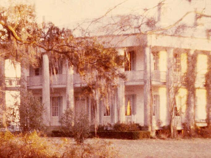A former slave plantation in Louisiana.