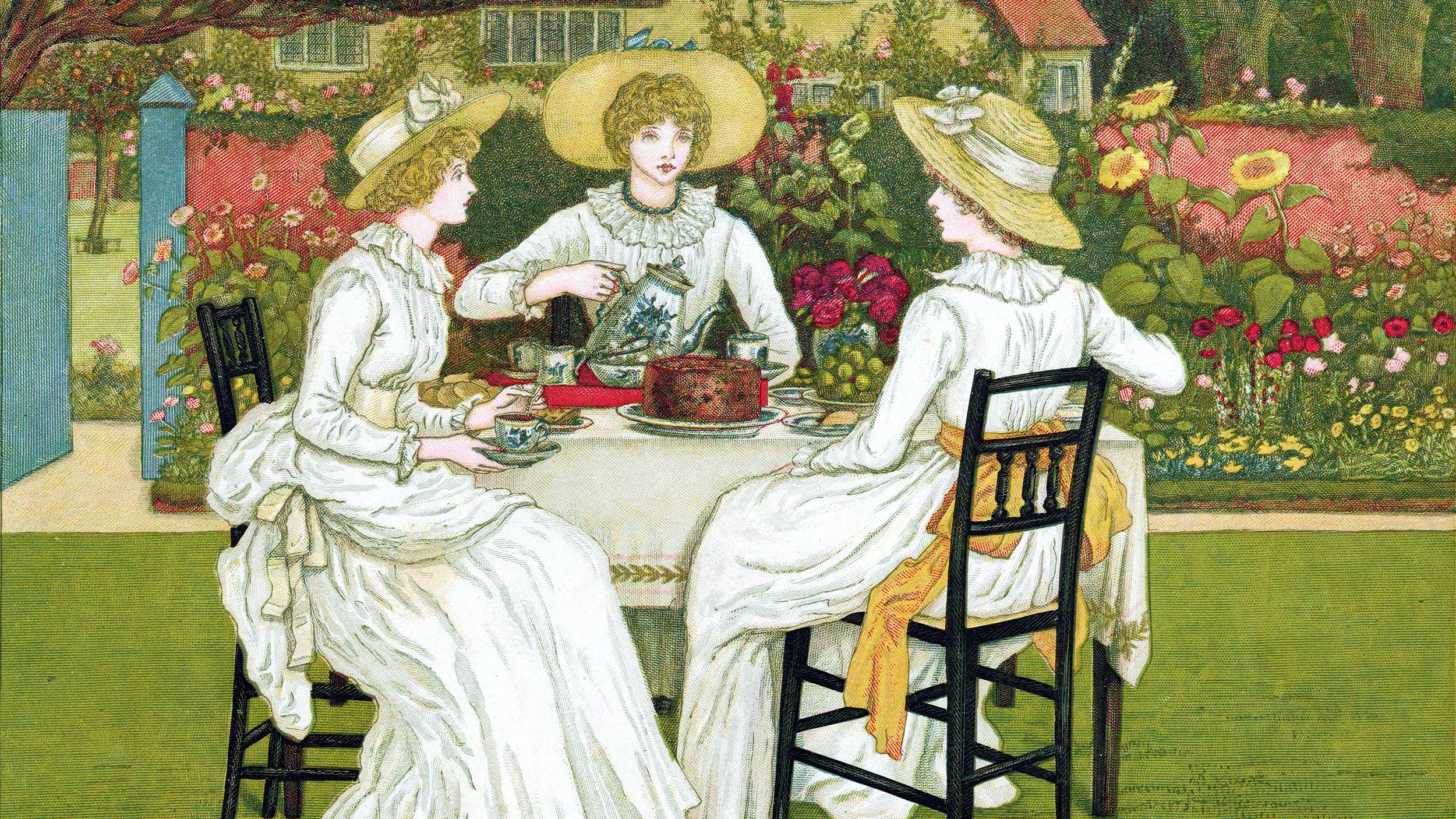 English Tea Party Dresses