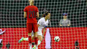 U.S. Topples Top-Ranked Germany 2-0 To Reach World Cup Final