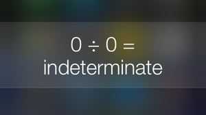 Asked To Divide Zero By Zero, Siri Waxes Philosophical (And Personal)