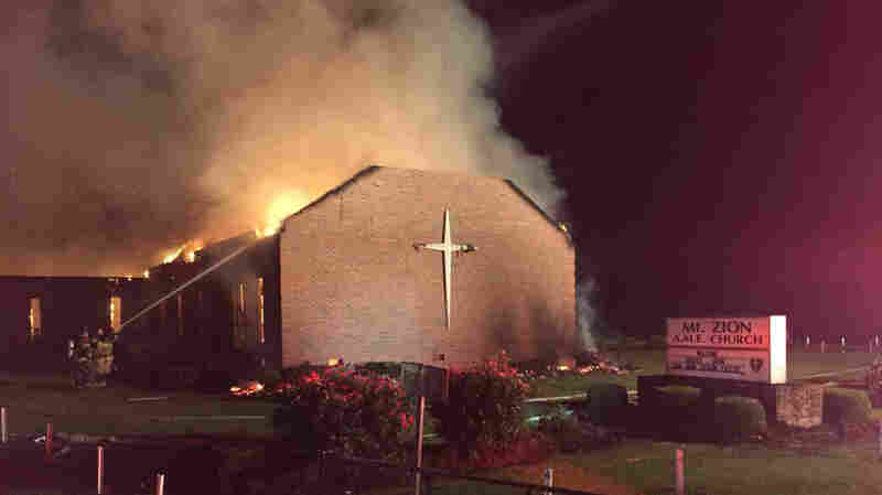 20 Years Ago, Mount Zion AME Was Set On Fire. Last Night, It Burned Again