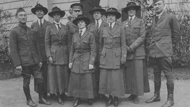 American Library Association volunteers in Paris Feb. 27, 1919