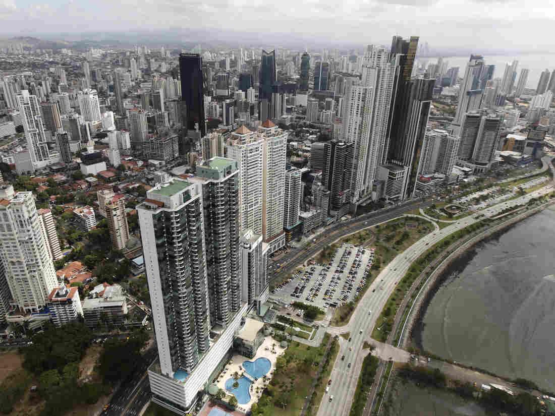 Panama City's skyline.
