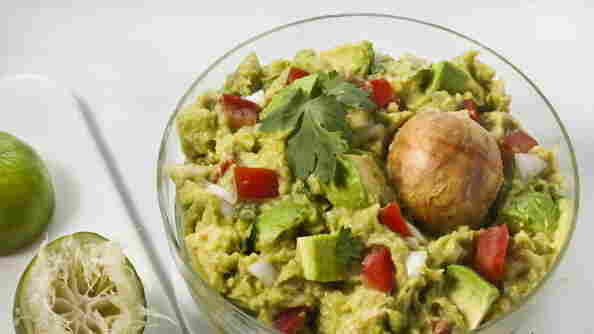 This is guacamole, the way we love it, not The New York Times recipe with fresh peas, about which the Twittersphere had something to say – a lot to say, actually.