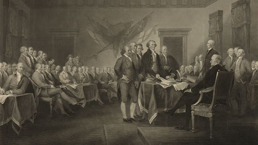 Just A Few Important Words About The Declaration Of Independence  Just A Few Important Words About The Declaration Of Independence  The  Twoway  Npr