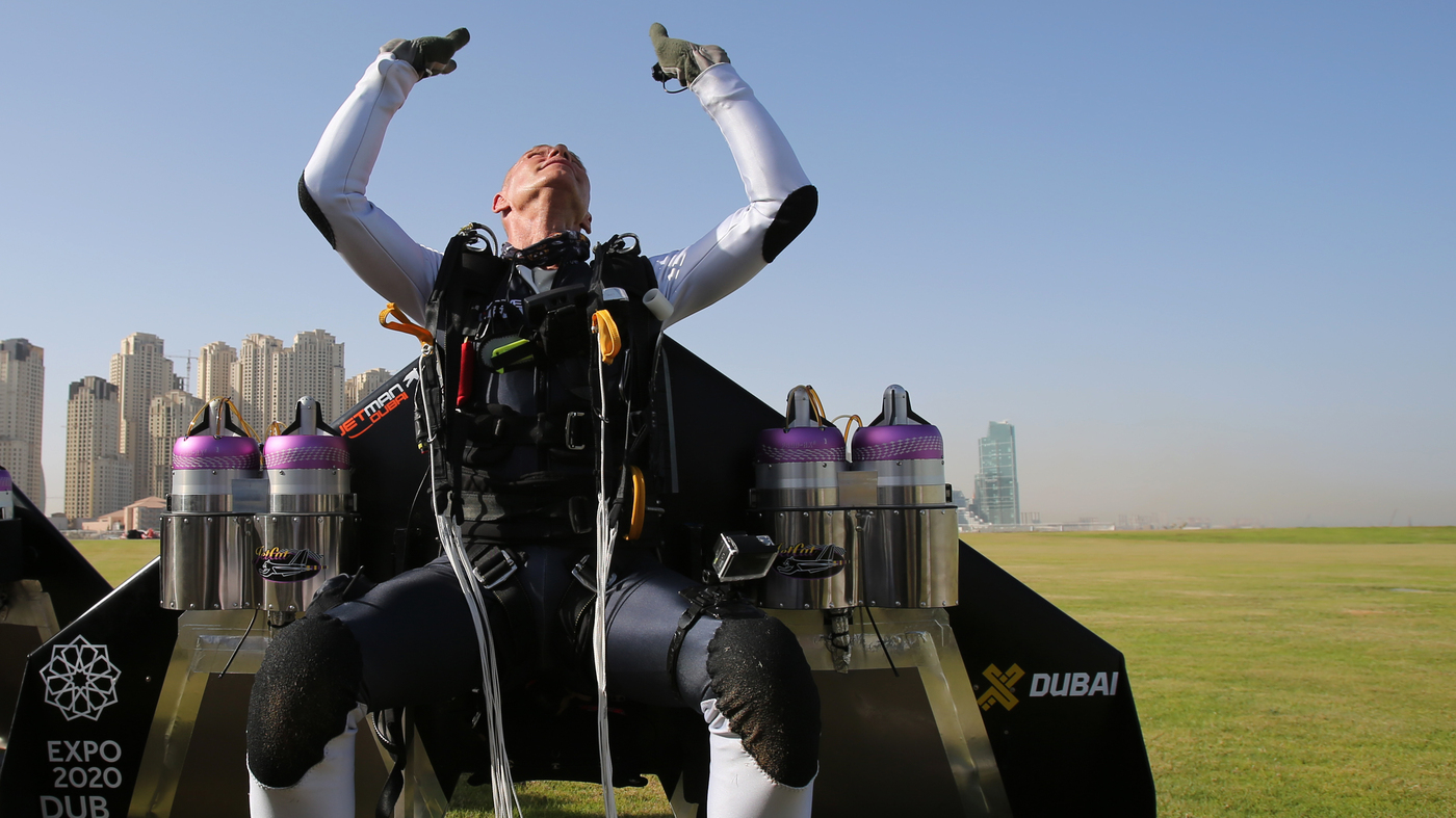 Ever Dream You Could Fly? 'Jetman' Has  Let Him Tell You