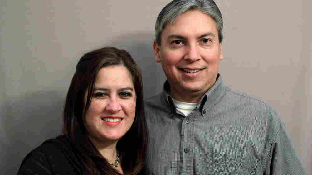Yvette Benavidez Garcia and her husband, Rene, dropped by the StoryCorps studios to reminisce about Yvette's father, Roy, a Medal of Honor recipient whose daring rescue mission in Vietnam cast ripples into his later life as a father.