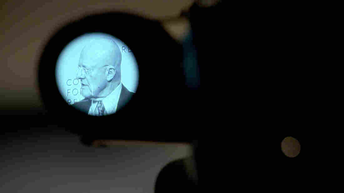 """Director of National Intelligence James Clapper, shown here speaking in March at the Council on Foreign Relations, has named China as """"the leading suspect"""" behind the OPM data theft."""