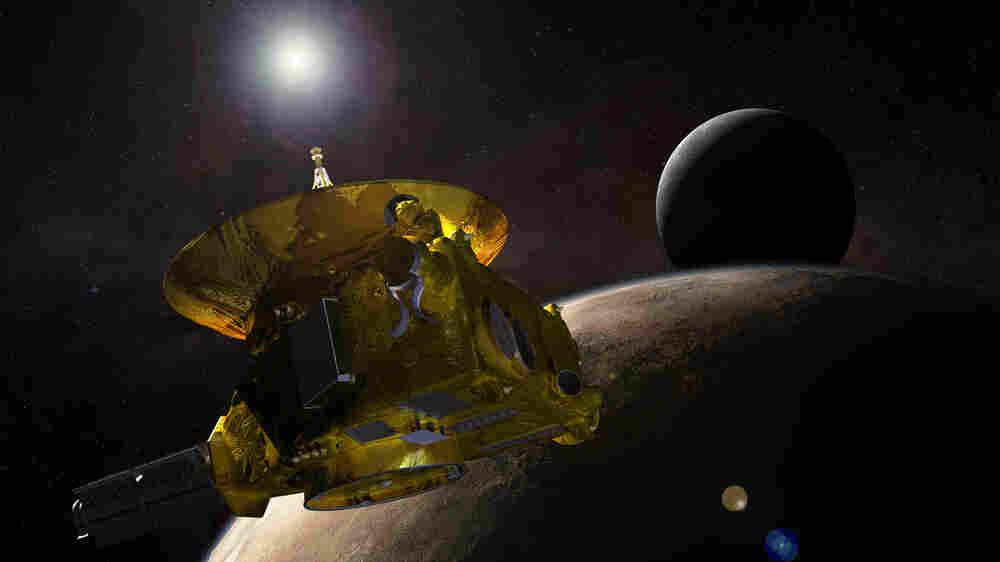 Pluto-Bound Spacecraft Nears Its Quarry