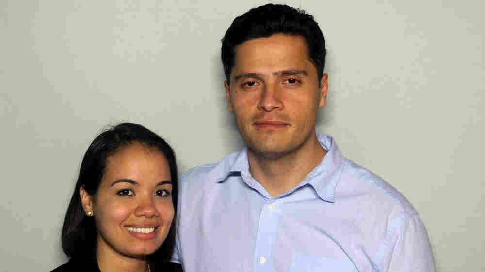 Anny Pena, 30, and Jonny Pena, 32, met when they were both stationed in Arizona.