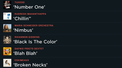 Songs We Love app.