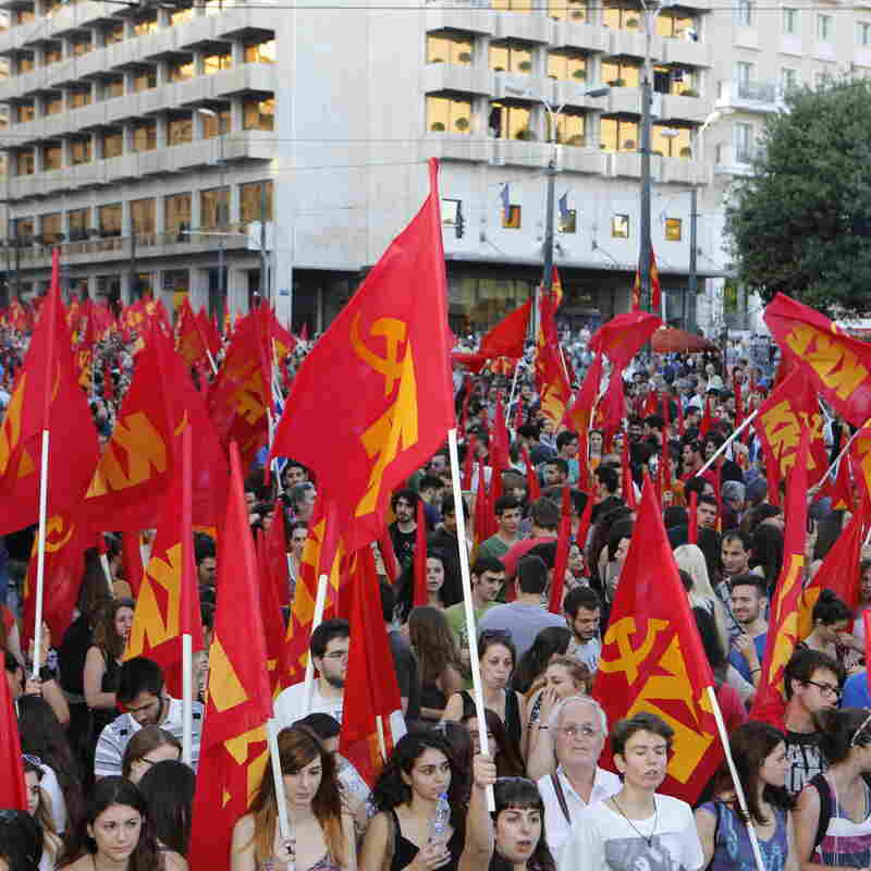 Hours From Greek Bailout Vote, 2 Sides Evenly Divided