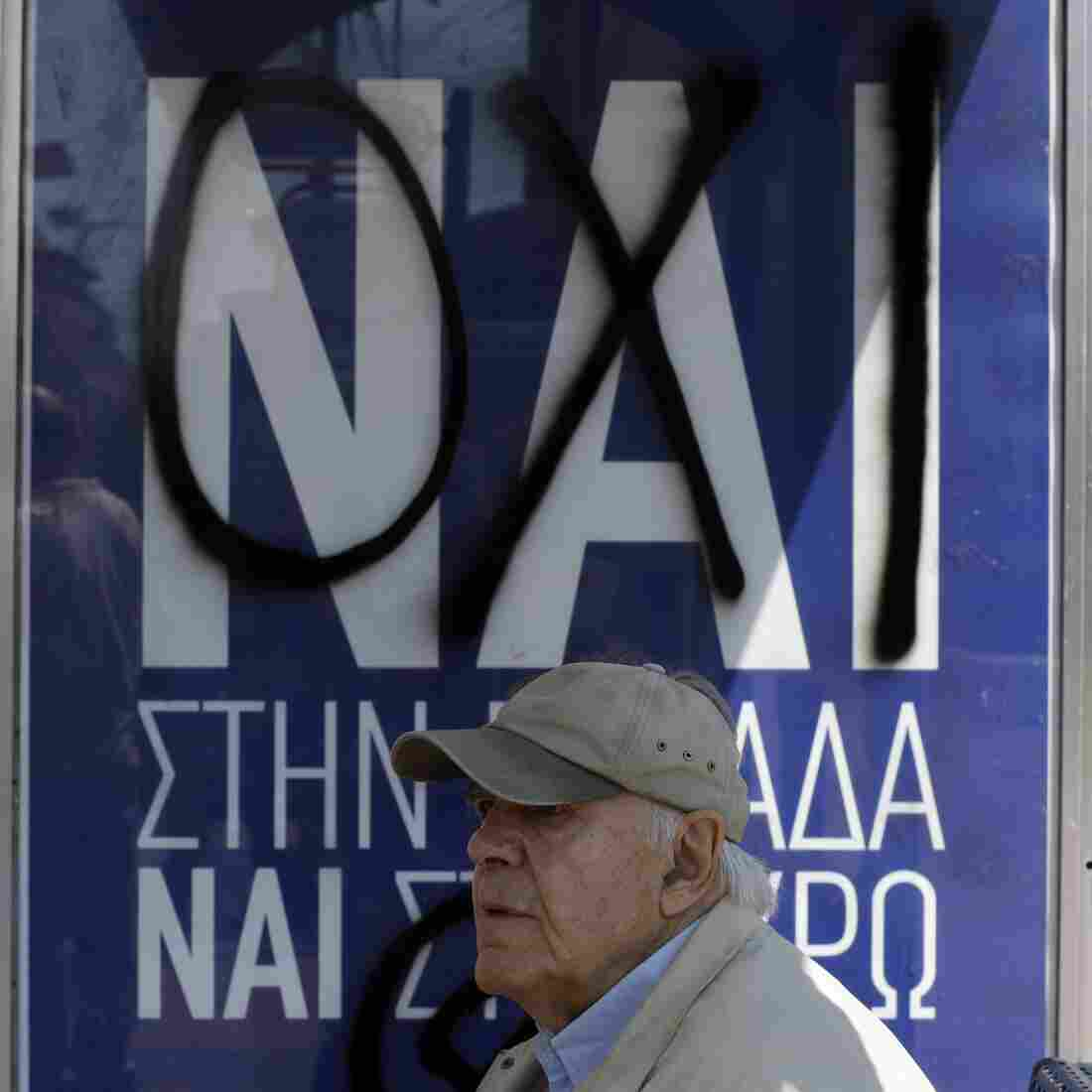 When Greeks Vote Sunday, It's Not Just About A Debt Deal