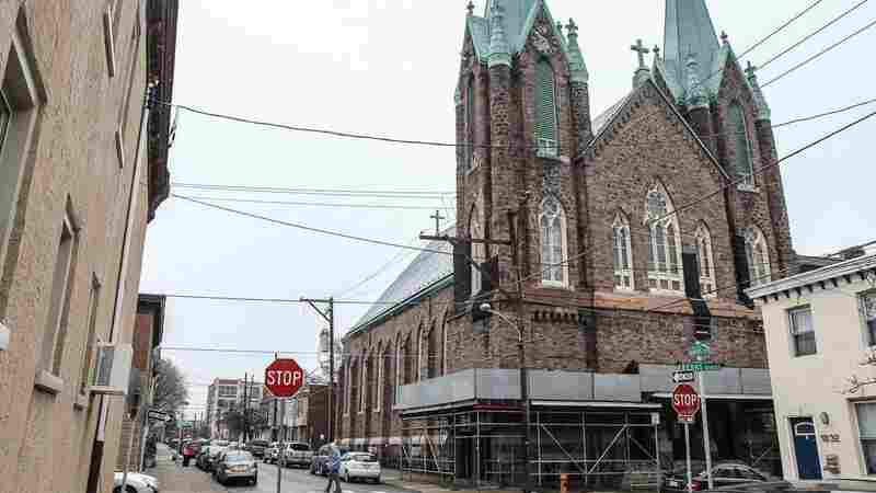 St. Laurentius, a polish Catholic church in Philadelphia's Fishtown neighborhood, was closed in March amid fears that it would collapse. Since then, the community has pushed back to save the historic building.