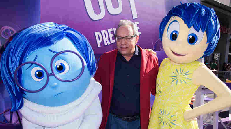 "Lewis Black, who voices ""Anger,"" attends the Los Angeles premiere of ""Inside Out"" at the El Capitan Theatre in Los Angeles."