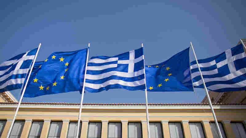 "Greek flags fly beside those of the European Union in Athens. Many people chalk the phrase up to Shakespeare, but its origins likely date back much earlier than that --€"" to medieval monks eager for a cop-out."