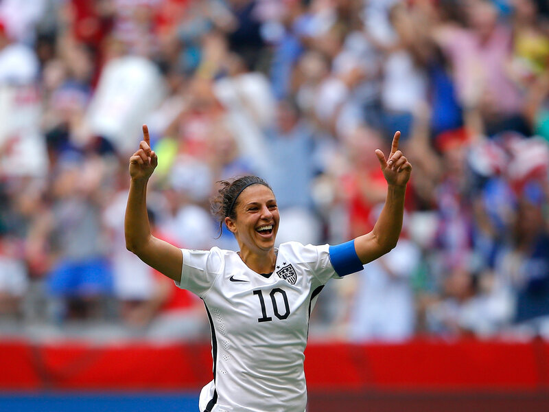 fb990af8 U.S. Women Win World Cup Final 5-2, After Spectacular Start : The ...