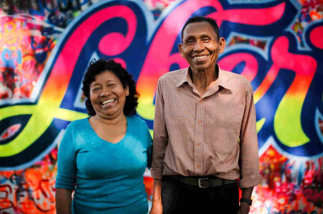 "Maria Nieves Nashnato Upari and Jose Manuel Huaymacari Tamani are teaching Kukama to children in hopes of keeping their ""maternal language"" alive."