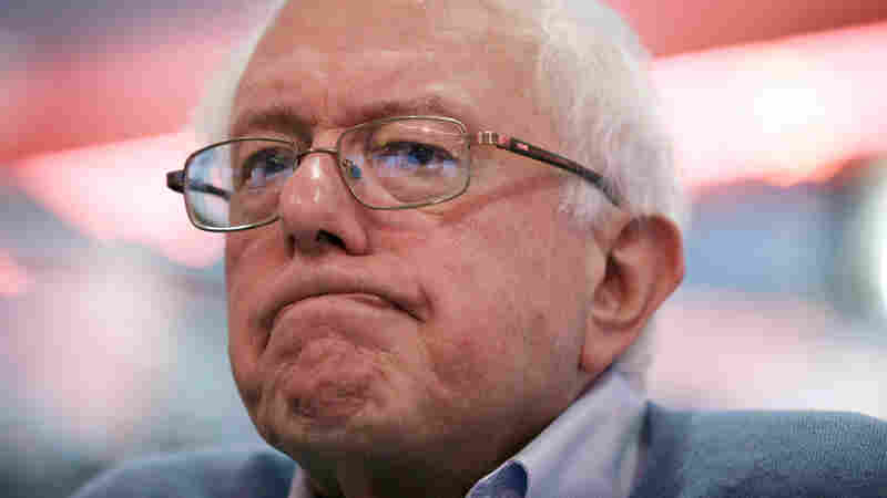Sanders raised $15 million for his presidential campaign, but front-runner Hillary Clinton tripled that amount.