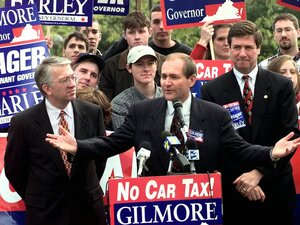 Gilmore's crusade against Virginia's car tax helped him win the 1997 race for governor.