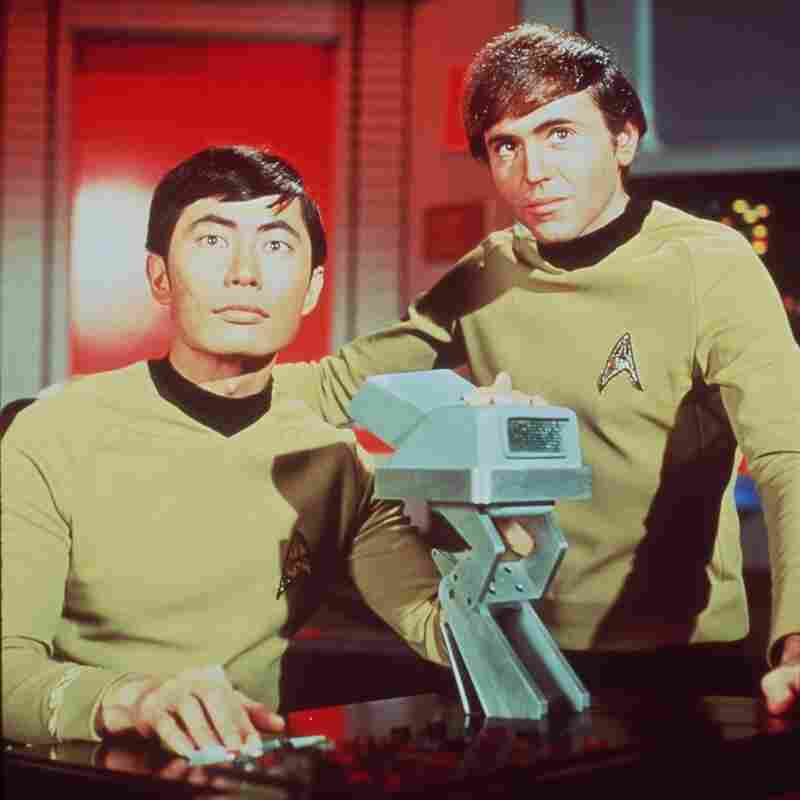 George Takei as Sulu (left) and Walter Koenig as Chekov in the original Star Trek series. The franchise has spun off a bounty of shows, but the last one came off the air a decade ago. One fan has a plan for the next installment.