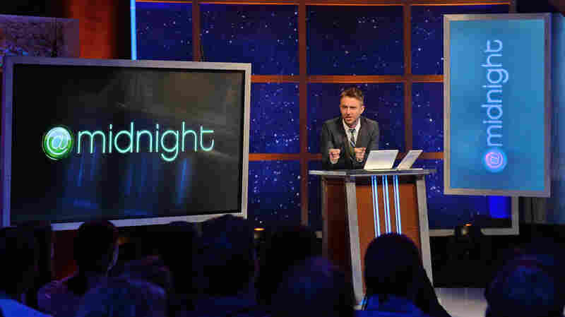 Chris Hardwick is the host of Comedy Central's popular series @midnight.