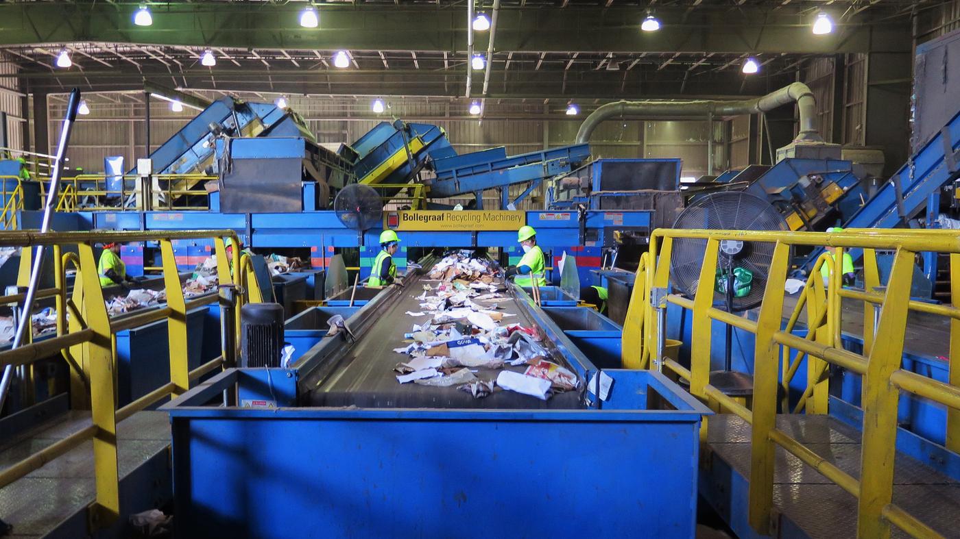 recycling : NPR
