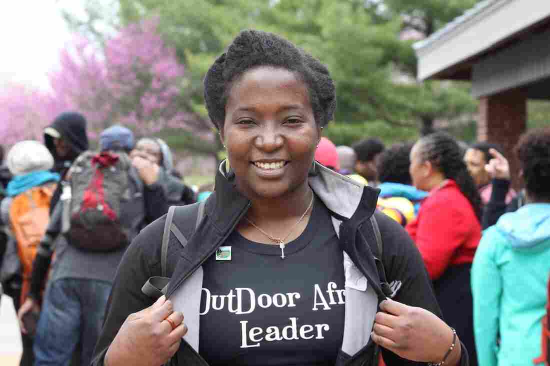 Tamara Johnson is a new Outdoor Afro leader in Atlanta.