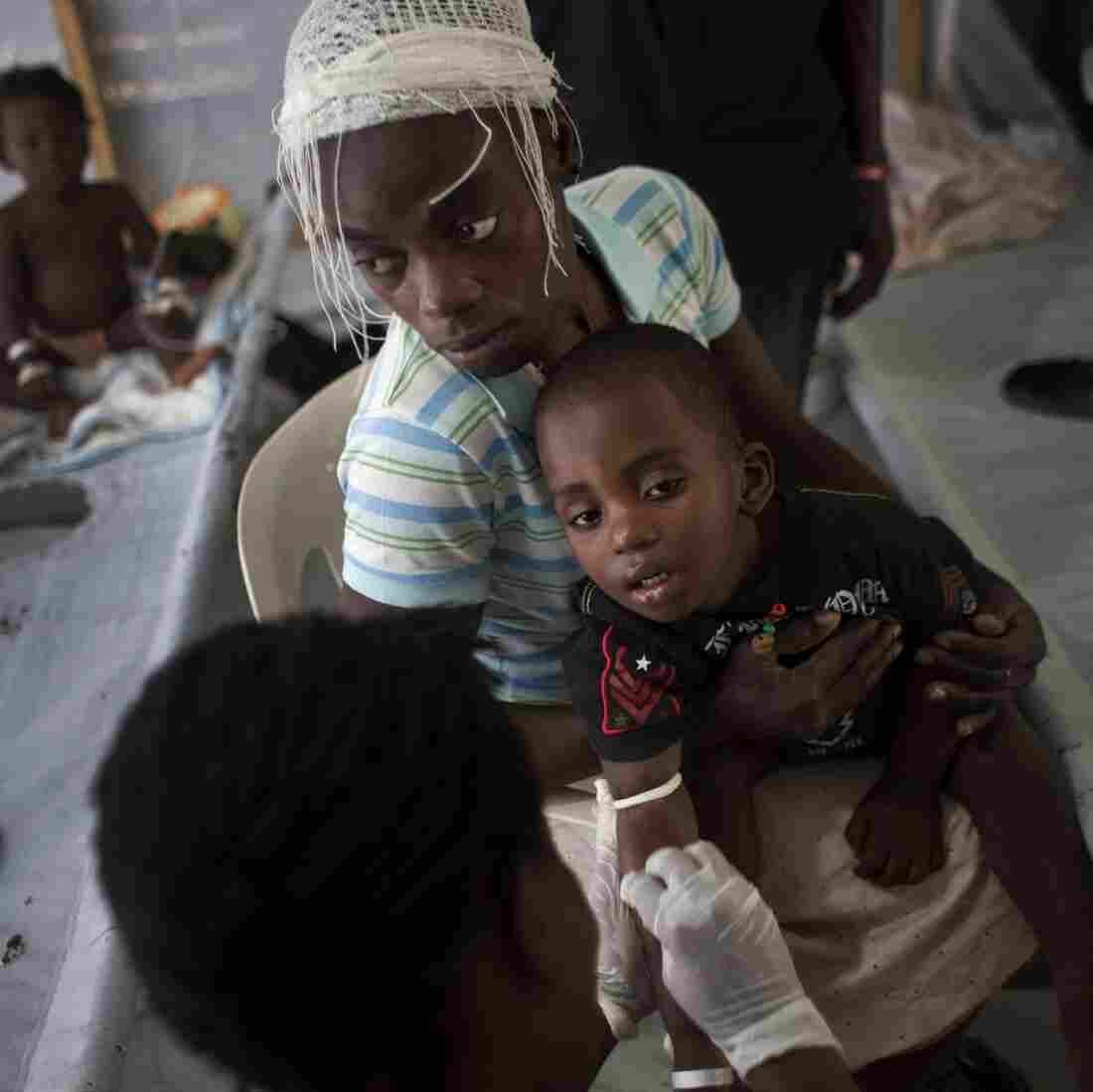 Cholera Vaccine Protects Whole Community, Even Unvaccinated