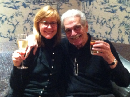 When Eleanor Beardsley met Omar Sharif in Paris, he offered her a glass of Champagne, and she showed him the laminated picture of him as Doctor Zhivago that she'd kept since high school.