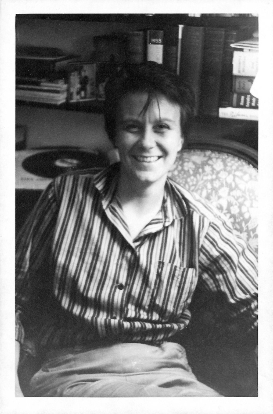 Harper Lee's friend Michael Brown took this picture of the author in October 1957, the same month she signed with publisher J.B. Lippincott. (Michael Brown/Courtesy of Columbia University)