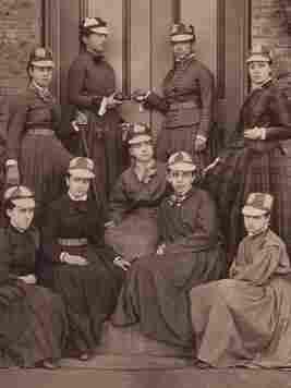 The Vassar College baseball team in 1876.