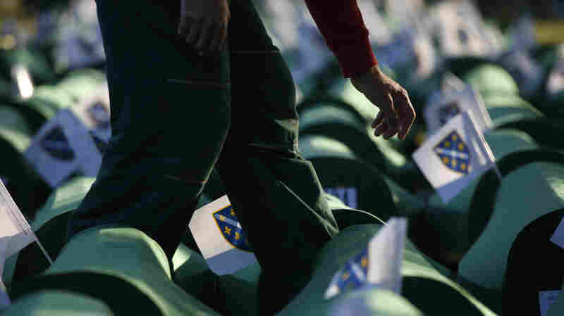 Despite Srebrenica's Horror, A Grass-Roots Optimism Sprouts In Bosnia