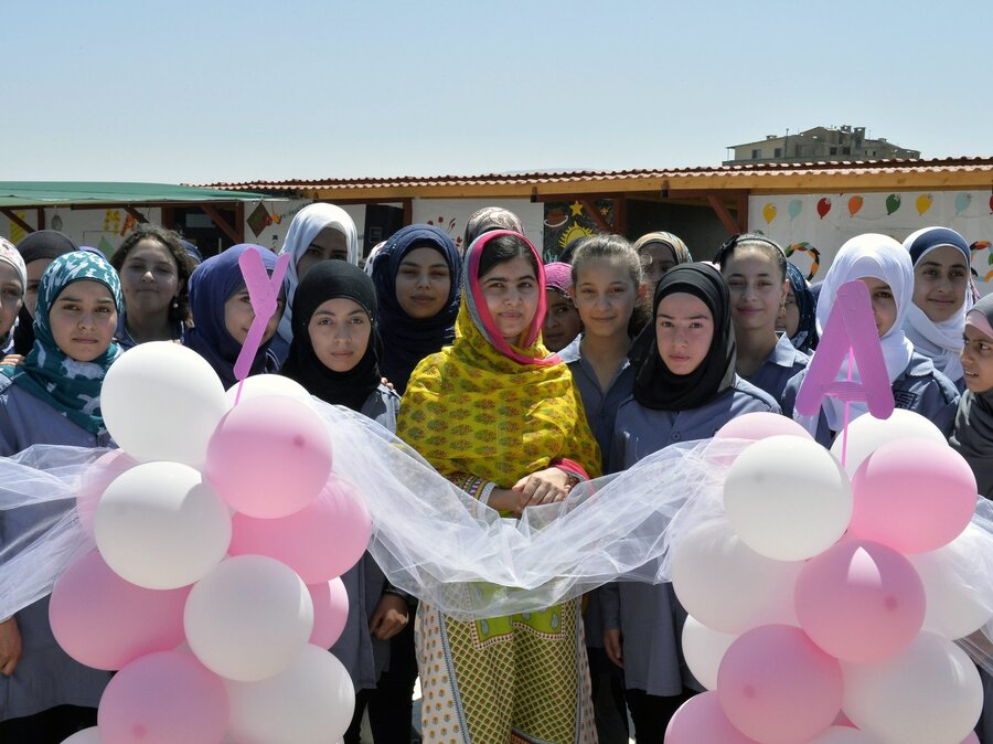 Malala Turns 18, And Opens A School For Syrian Refugee Girls : The ...