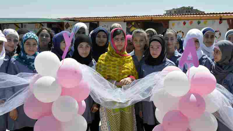 Malala Turns 18, And Opens A School For Syrian Refugee Girls
