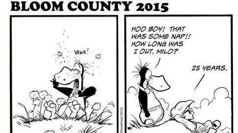 'Bloom County 2015': Berkeley Breathed Revives Comic Strip