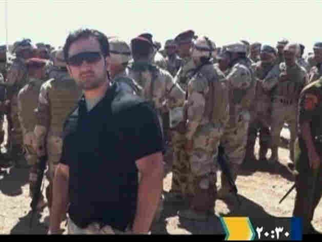 Amir Hekmati, in an undated still image taken from video in an undisclosed location made available to Reuters TV on Jan. 9, 2012.