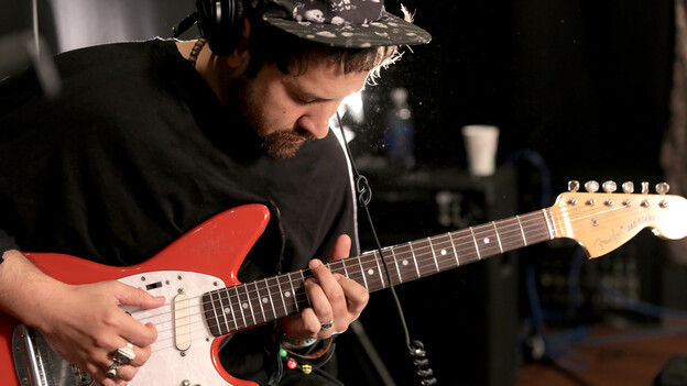 Unknown Mortal Orchestra performs live in the WFUV studio. (WFUV)