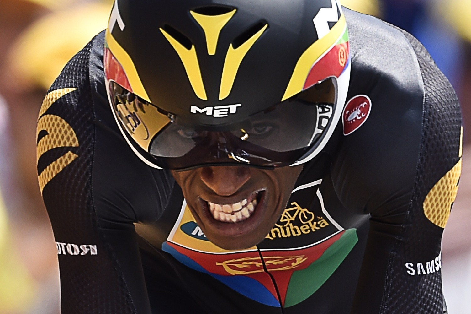 They're The First Black Africans To Ride In The Tour De France