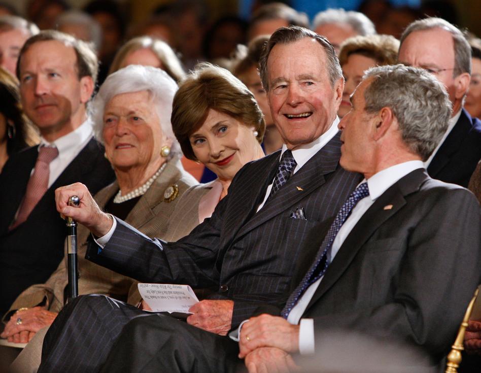 Former President George H W Bush Dies At Age 94 Mpr News