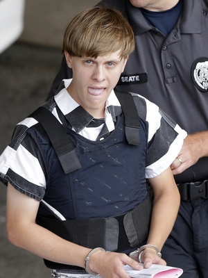 Charleston, S.C., shooting suspect Dylann Roof, last month. His trial date has been set for July 11, 2016.