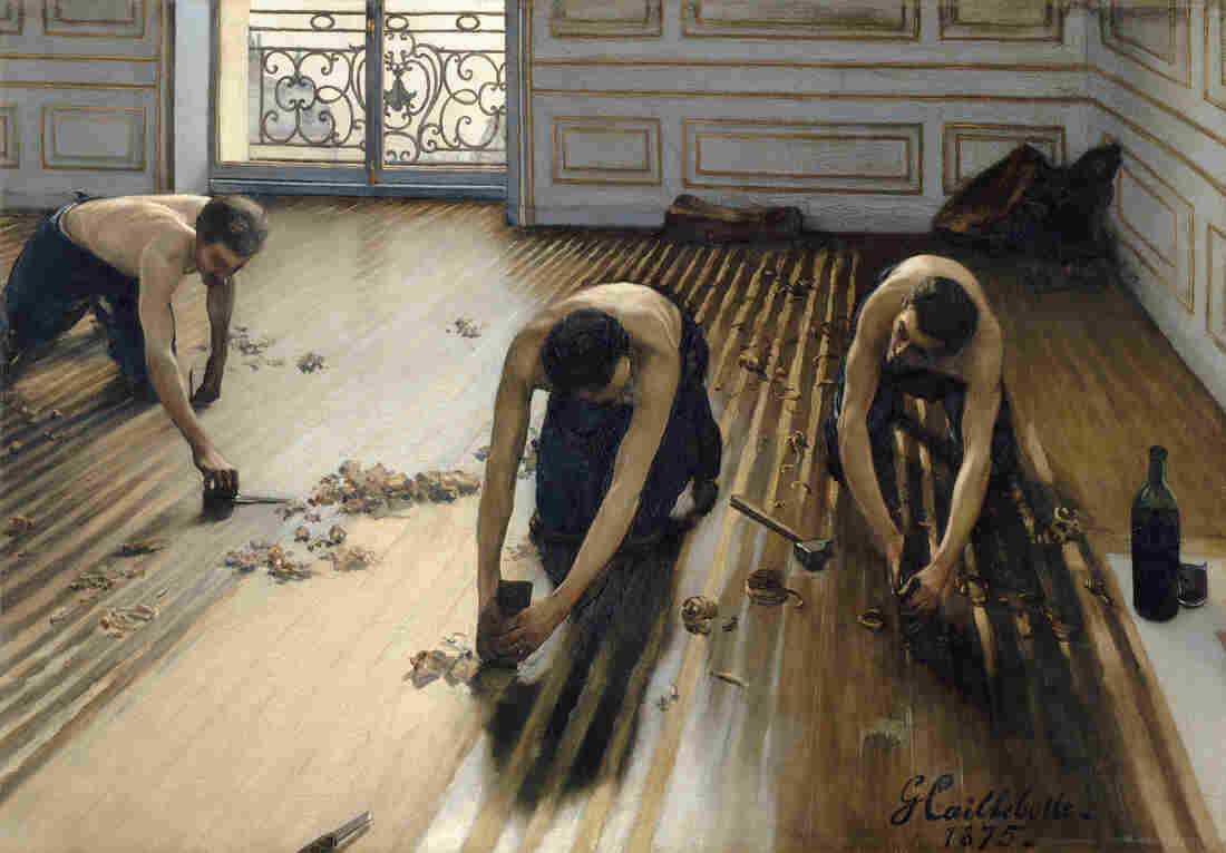 Caillebotte's 1875 painting The Floor Scrapers was rejected by the elite Salon, but it was the work that launched his career.