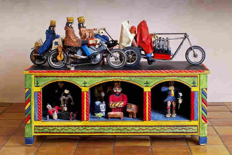 The Three Kings Pasando Por Nuevo Mexico, by Nicholas Herrera.