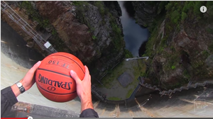 WATCH: Magnus Effect Whisks Basketball Into The Spin Zone