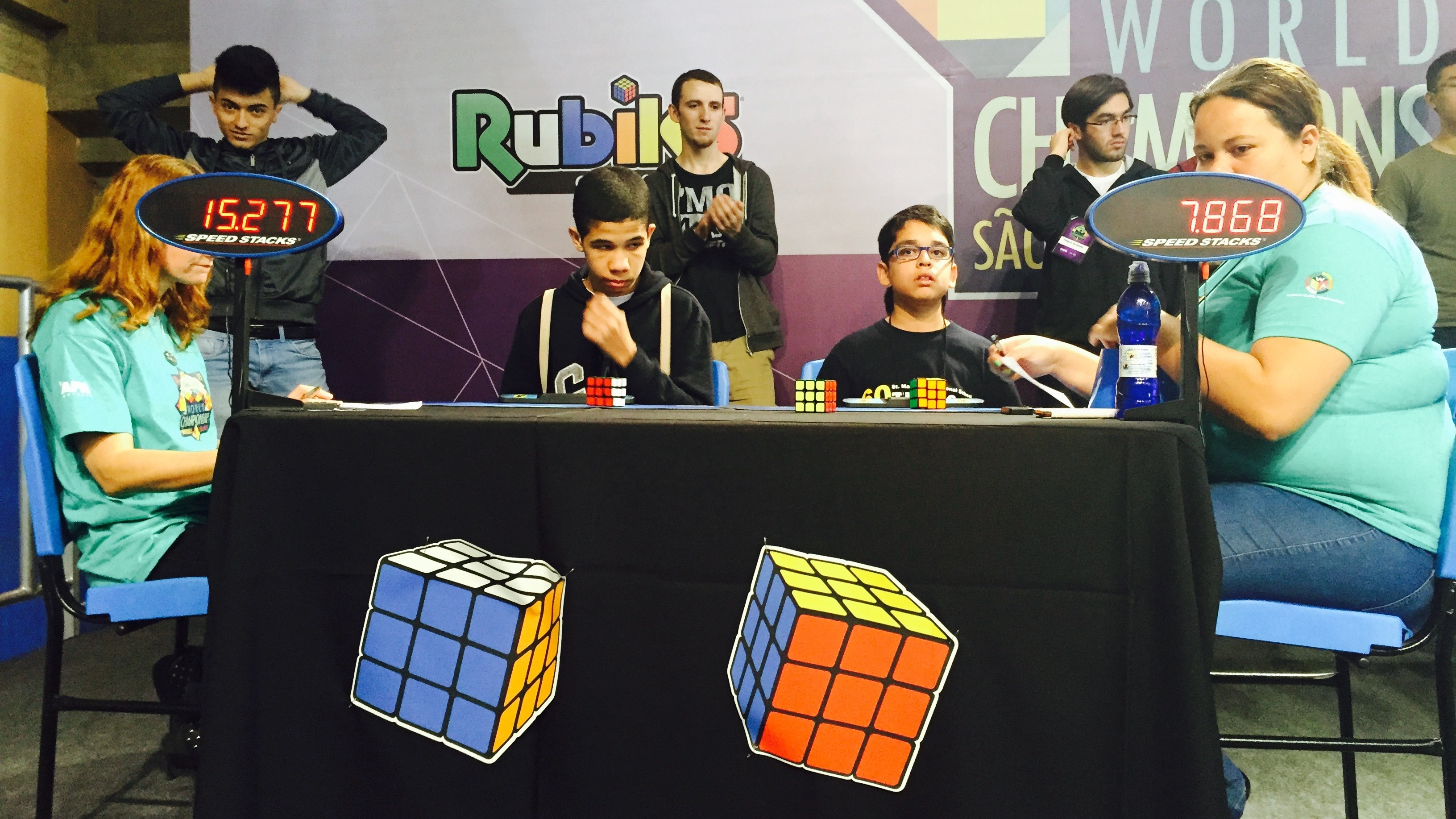 For The Rubik's Cube World Champ, 6 Seconds Is Plenty Of Time