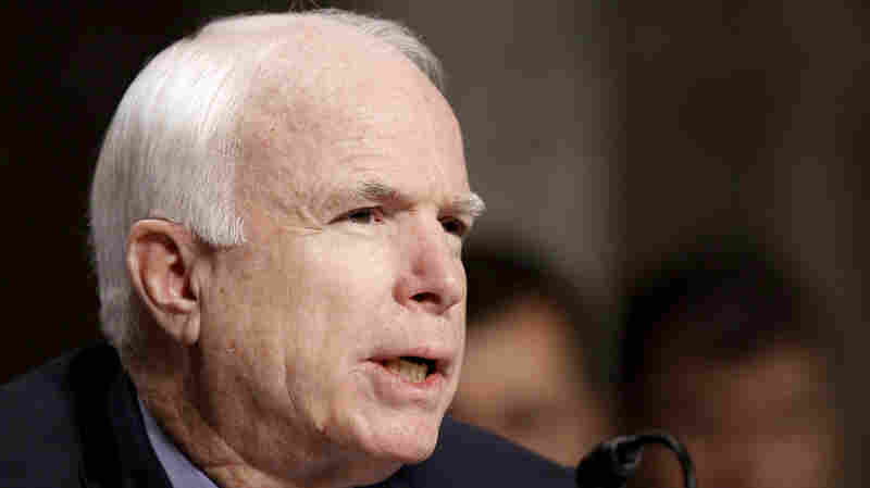 Sen. John McCain, a Republican from Arizona.