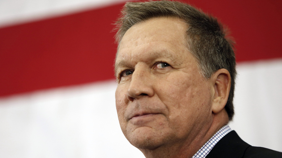 Ohio Gov. John Kasich is the final major GOP candidate expected to enter the race for president. (Jim Cole/AP)