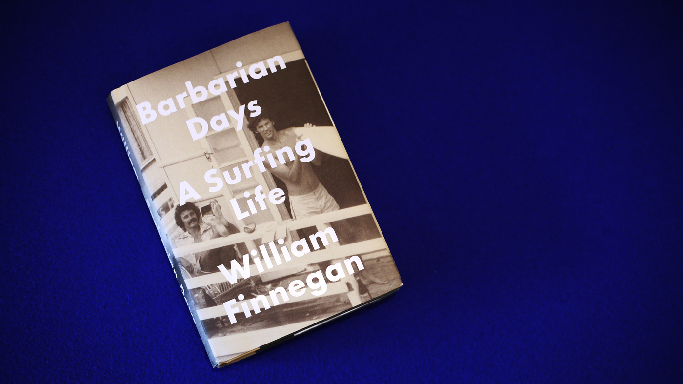 Each Wave Tells A Story In 'Barbarian Days'