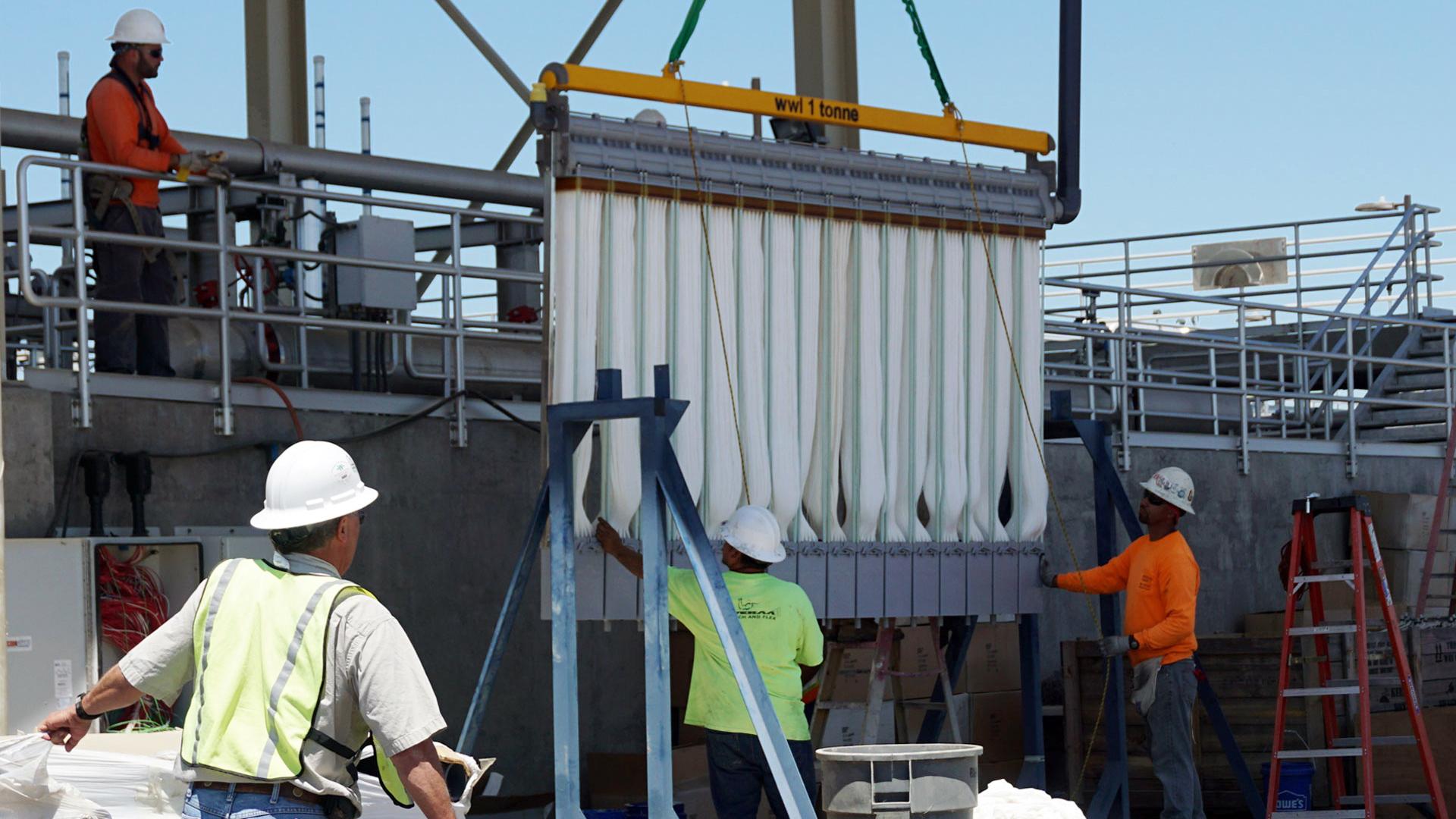 Drought Stricken California Farmers Look To Tap Urban Wastewater Wbur News